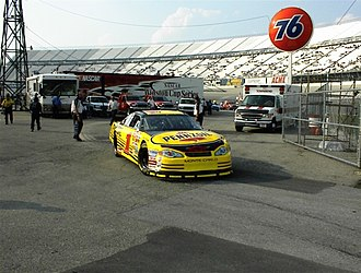 Steve Park - Park's 2001 Cup car at Dover (at the time being driven by Kenny Wallace)