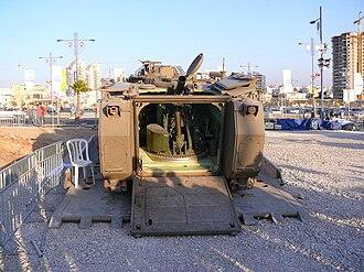Soltam Systems - Soltam Cardom 120mm Recoil Mortar System