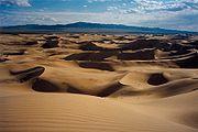 Sand dunes of Khongoryn Els, Gurvansaikhan NP, Mongolia.