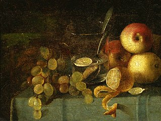 Still life with a glass.