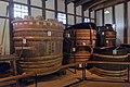 Kikunoyo Brewery large vats 2014 Museum Meiji Mura.jpg