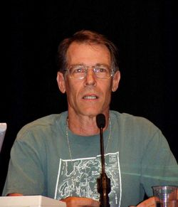 Kim Stanley Robinson på 63rd World Science Fiction Convention i Glasgow, augusti 2005