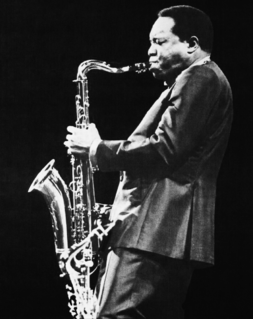King Curtis American saxophonist
