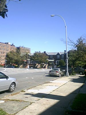 Kings Highway (Brooklyn) - Kings Highway entering the Flatlands section of Brooklyn
