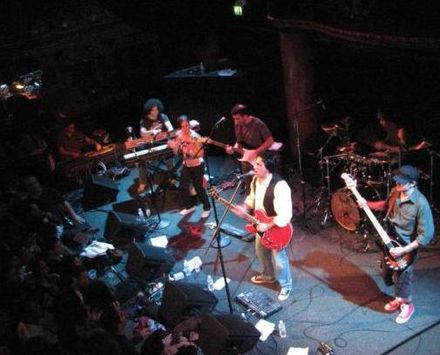 Iranian rock band Kiosk, live in 2007 KioskSF.JPG