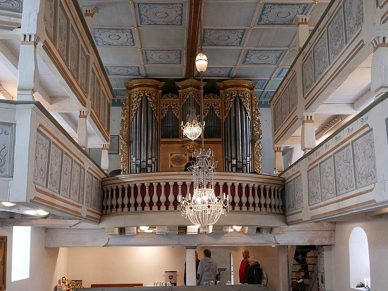 Datei:Kirche St Georg Pfaffroda Silbermannorgel 13.jpg