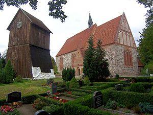 Cammin, Rostock - Image: Kirche in Cammin