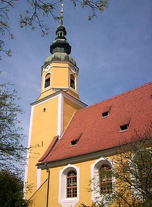 Königswartha - Image: Kirche in Königswartha 3