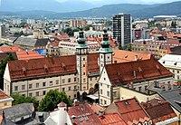 Klagenfurt Innere Stadt Landhaus NO-Ansicht 31072008 01.jpg
