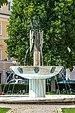 Klagenfurt Innere Stadt Landhauspark Kogelnik-Brunnen Der Gesang 06092020 7801.jpg