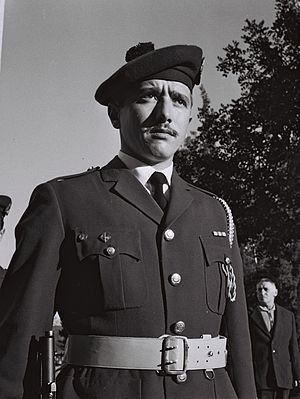 Knesset Guard - Member of the newly established Knesset Guard, 1959