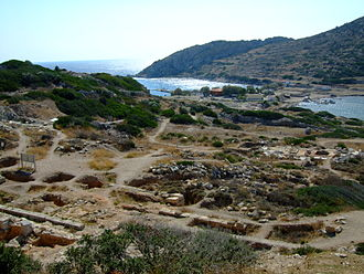 Knidos - The port of Knidos