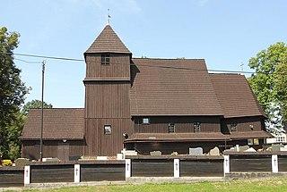 Rudziniec Village in Silesian, Poland