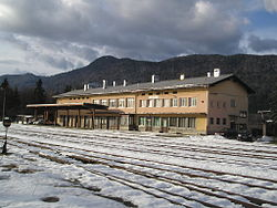Kocevje-train station.jpg