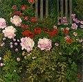 Koloman Moser - Blooming Flowers with Garden Fence (16272258091).jpg