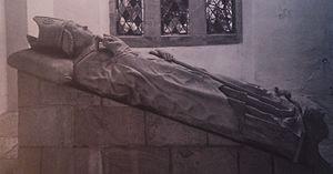 Lordship of Diepholz - Tomb of Konrad III of Diepholz, Bishop of Osnabruck