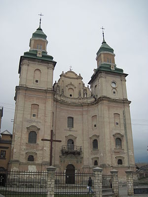 Zbarazh - Saviour Church in Zbarazh (ca. 1600)