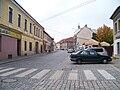 Kostelec nad Černými lesy, Pražská, od náměstí.jpg