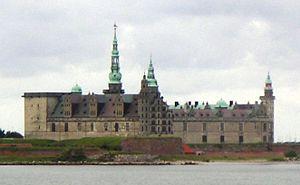Helsingør Municipality - Kronborg Castle in Helsingør Kommune, Denmark.