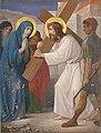 Kruisweg Sint-Martinuskerk, Horn, statie 04 Jezus ontmoet zijn bedroefde moeder.jpg
