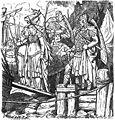 Kudrun wird gefangen weggeführt (1885) by Johannes Gehrts.jpg