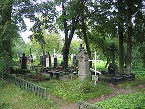 Kuntsevo Cemetery - The 19th-century graves