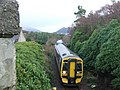Kyle train from Plockton railway bridge - geograph.org.uk - 1088055.jpg