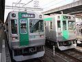 Kyoto Subway 1113 and 1115.JPG
