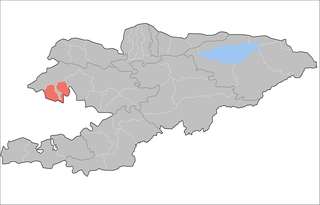 Ala-Buka District Raion in Jalal-Abad Region, Kyrgyzstan