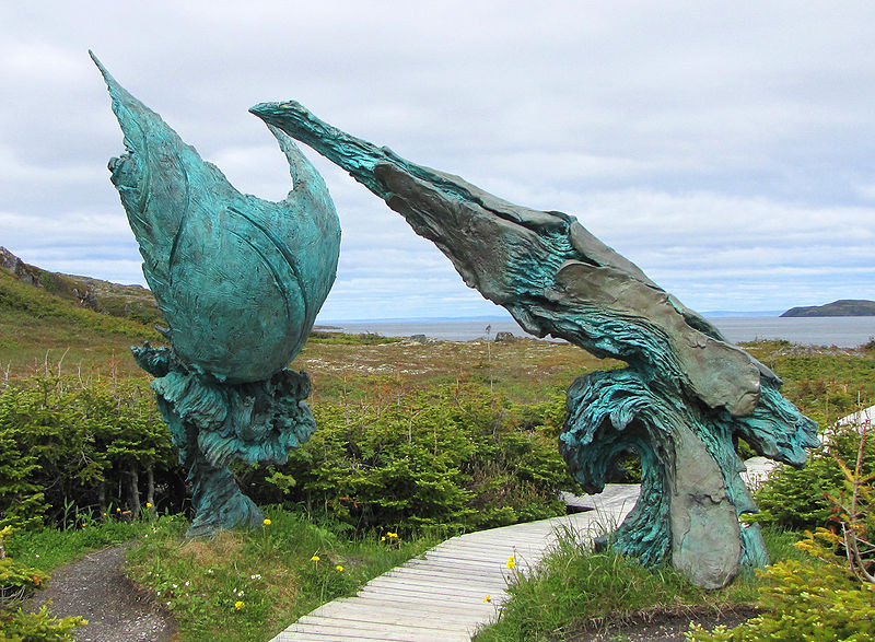 L'Anse aux Meadows, The Meeting of Two Worlds.jpg