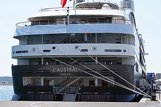 L'Austral - Image: L'Austral (ship, 2011) IMO 9502518, in Split, Croatia, 2011 07 06 (2)