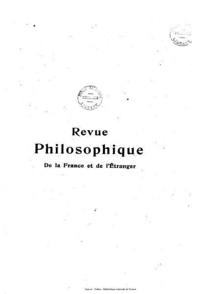 File:Lévy-Bruhl - Revue philosophique de la France et de l'étranger, 86.djvu