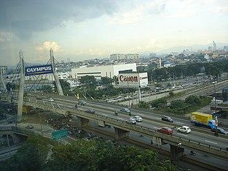 Damansara–Puchong Expressway - Image: LDP FR1