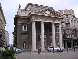 La Borsa vecchia, oggi sede della Camera di commercio