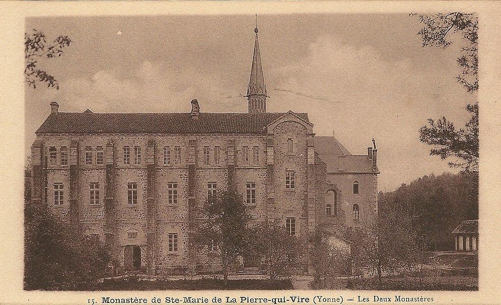 Saint-Léger-Vauban (Yonne, France); Monastère de La Pierre-qui-Vire