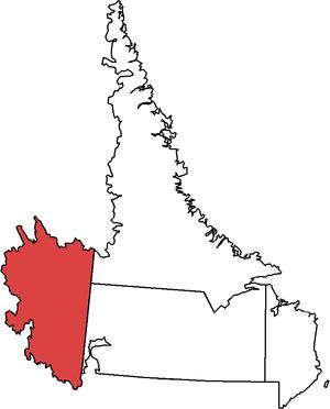 Labrador West (electoral district) - Image: Labrador West