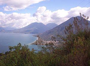 San Pedro La Laguna - View of San Pedro