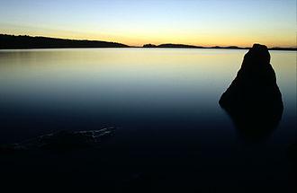 Vesijärvi - Vesijärvi at night