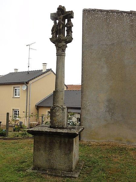 Laix (Meurthe-et-M.) croix de l'ancien cimetière