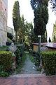Lajatico, castello, fossi, busti e giardini.JPG