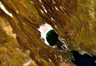 Lake Assal (Djibouti) - Image: Lake Assal NASA