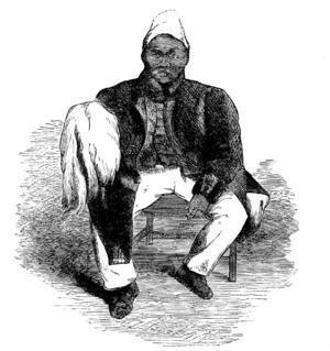 Jonker Afrikaner - Contemporary engraving of Jonker Afrikaner