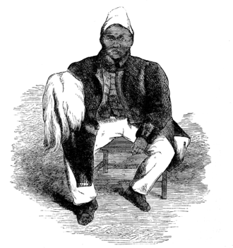 Jonker Afrikaner - Contemporary engraving of Jonker Afrikaner