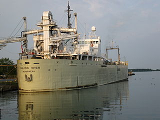 <i>English River</i> (ship) Canadian lake freighter and bulk carrier, launched in 1961