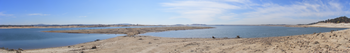 Folsom Lake, gripped by drought, is less than ...