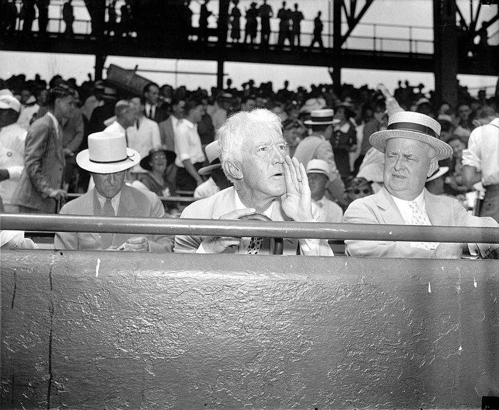 Landis at 1937 All-Star Game