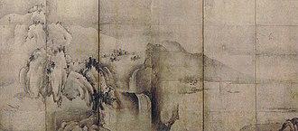 Sesson Shukei - Image: Landscape of the Four Seasons by Sesson Shukei (Koriyama City Museum of Art)l