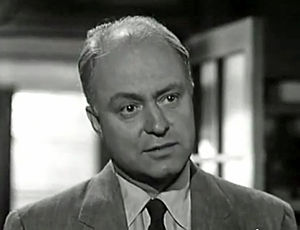 "Larry Gates - Gates in trailer for ""Invasion of the Body Snatchers"" (1956)"