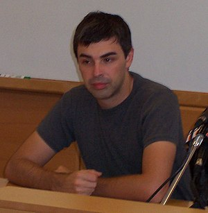 Larry Page - Page in the early days of Google