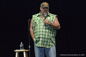 Larry the Cable Guy - Larry the Cable Guy in performance at the Resch Center in Green Bay in 2015